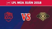 Highlights: LGD vs SS | LGD Gaming vs Snake Esports | LPL Mùa Xuân 2018
