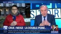 Crue et neige: la double peine à Villeneuve-Saint-Georges