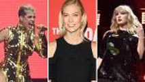Katy Perry Spotted Hanging Out With Taylor Swift's Friend Karlie Kloss   Billboard News