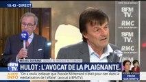"""Plainte contre Hulot: Pascale Mitterrand """"a voulu que monsieur Hulot sente le vent du boulet """", dit son avocat"""