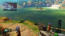 Black Ops 3 - NEW Hunted Glitch *BO3 Beta 2015* (BO3 Hiding Spots/Glitches)