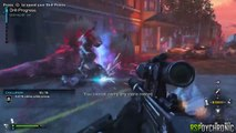 COD Ghosts DLC Nemesis - INSTANT KILL Sniper Deadeye  Armory Upgrade   COD Extinction Exodus DLC