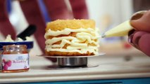 Mini Wedding Cake for Valentine's Day Teeny Weeny Challenge #4