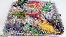 Box Of Toys Dinosaurs! Jurassic Park Dinosaur Collection- Learning Dinosaurs Names for Kids Toy Box