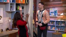 Flula Borg and Gina Brillon Guess Celebs With More Followers Than Justin Bieber: Trivial Takedown PreGame
