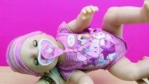 Muñeca Bebé Interiva Baby Born BANDAI en español   La bebé come papilla llora y hace pipí