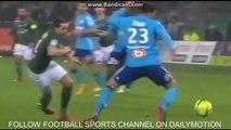 Buts ASSE- OM 2-2 / Résumé vidéo Saint-Etienne - Marseille / Ligue 1