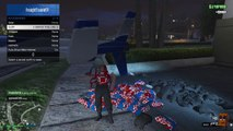 """(PATCHED) GTA 5 Glitches unlimited parachutes patch 1.24 """"funny moments glitch"""""""