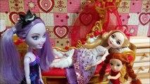 Мультик с куклами Эвер Афтер Хай и Барби Травма Эппл Мультики для девочек Стоп Моушен Куклы Шоу #35
