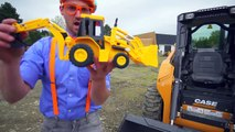 Learn Diggers for Children with Blippi _ Videos for Toddlers