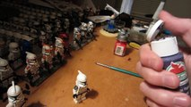 How To Paint Custom LEGO Star Wars Clone Troopers.