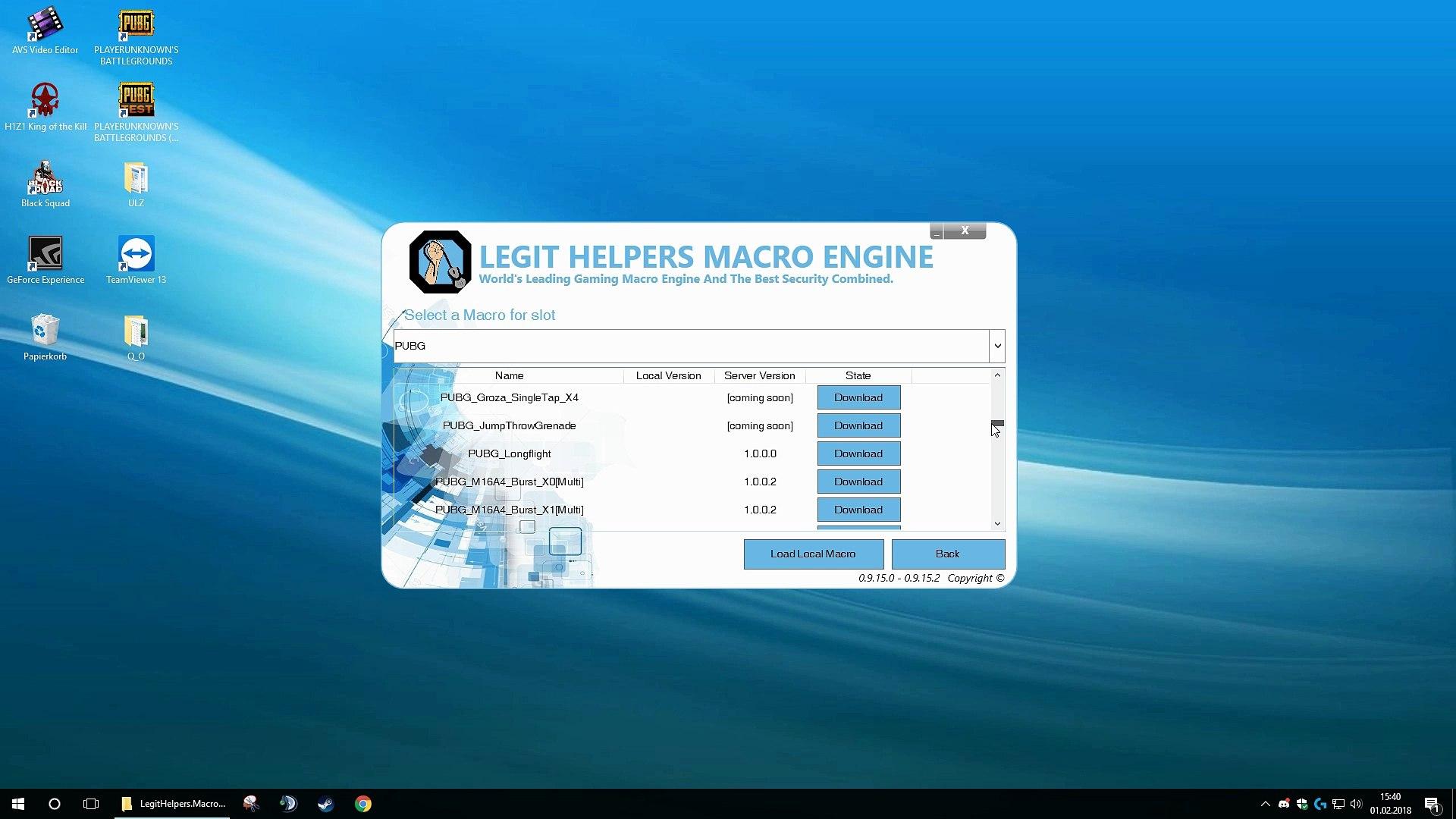Legit Helpers Macro Engine - Tutorial Video