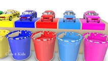 Learn colors Police Cars for Kids and Fun Learning Vehicles 3D Cartoons for Children Video