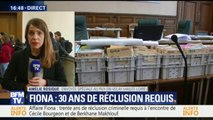 Affaire Fiona: trente ans de réclusion criminelle requis à l'encontre de Cécile Bourgeon et Berkhane Makhlouf