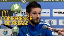 Conférence de presse Tours FC - Paris FC (1-2) : Jorge COSTA (TOURS) - Fabien MERCADAL (PFC) - 2017/2018