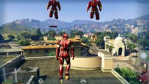 Game New Khmer-GTA 5 Mods - WAR MACHINE Iron Man Mod part1