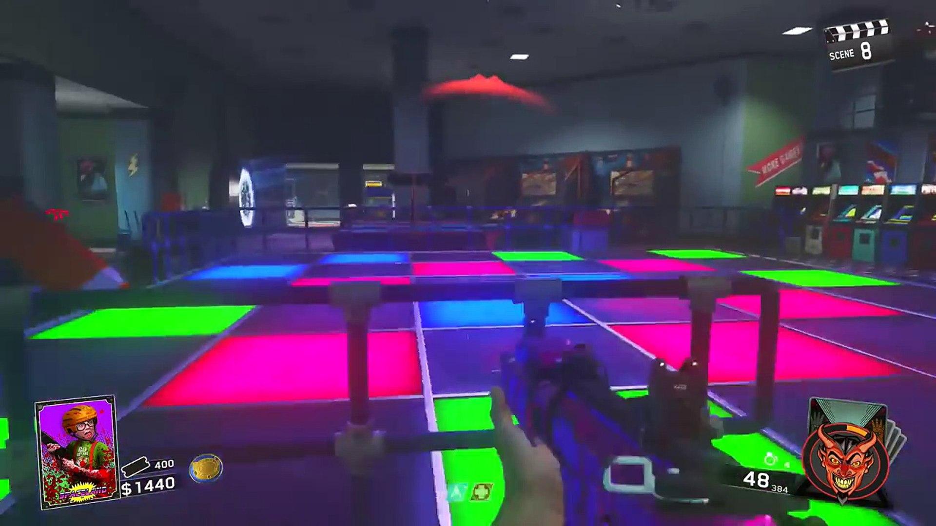 Infinite Warfare Zombies Glitches: Zombies In Spaceland Weapon Duplication Glitch! IWZ Glitches