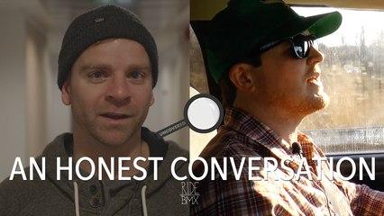 AN HONEST CONVERSATION - VAN HOMAN & BRIAN KACHINKSY - UNCOVERED BMX