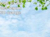 818TEch No11500050336 HiSpeed USB 30 clé 16Go carottes légumes carotte 3D orange