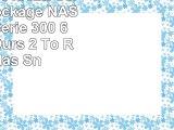Netgear RN31662E Serveur de Stockage NAS 6 Baies Série 300 6 Disques Durs 2 To ReadyNas