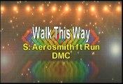 Aerosmith ft Run DMC Walk This Way Karaoke Version