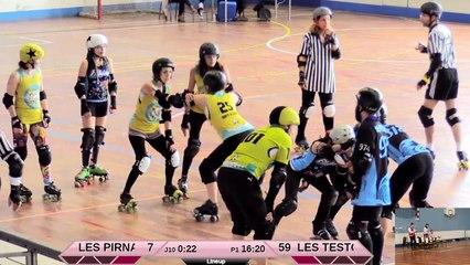 Nut est là sur le track - Les Pirnanas vs Brain Damage - 11/02/2018