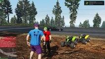 GTA 5 Online SHQIP - Challenge me Motorra me 4 Rrota per Mount Chiliad !! - SHQIPGaming