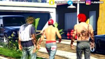 GTA 5 TRAPPIN ON DA BLOCK EP. 7 - FAKE WEED (GTA IN THE HOOD)