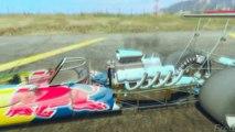 GTA V - RED BULL VS CHICK HICKS, OPTIMUS PRIME, LIGHTNING MCQUEEN (GTA 5 RED BULL Mods