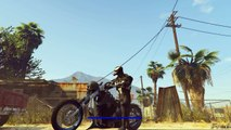 Grand Theft Auto V - New Bikers DLC Gameplay w/ Extreme LCC Sanctus GTA 5 MOD