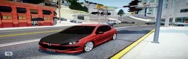 GTA San Andreas : peugeot 307 HDI - crash test - Vidéo