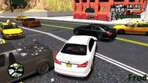 GTA San Andreas beta [Map MOD for #GTAIV] Gameplay With BMW 750Li Sedan '09 [Car MOD]