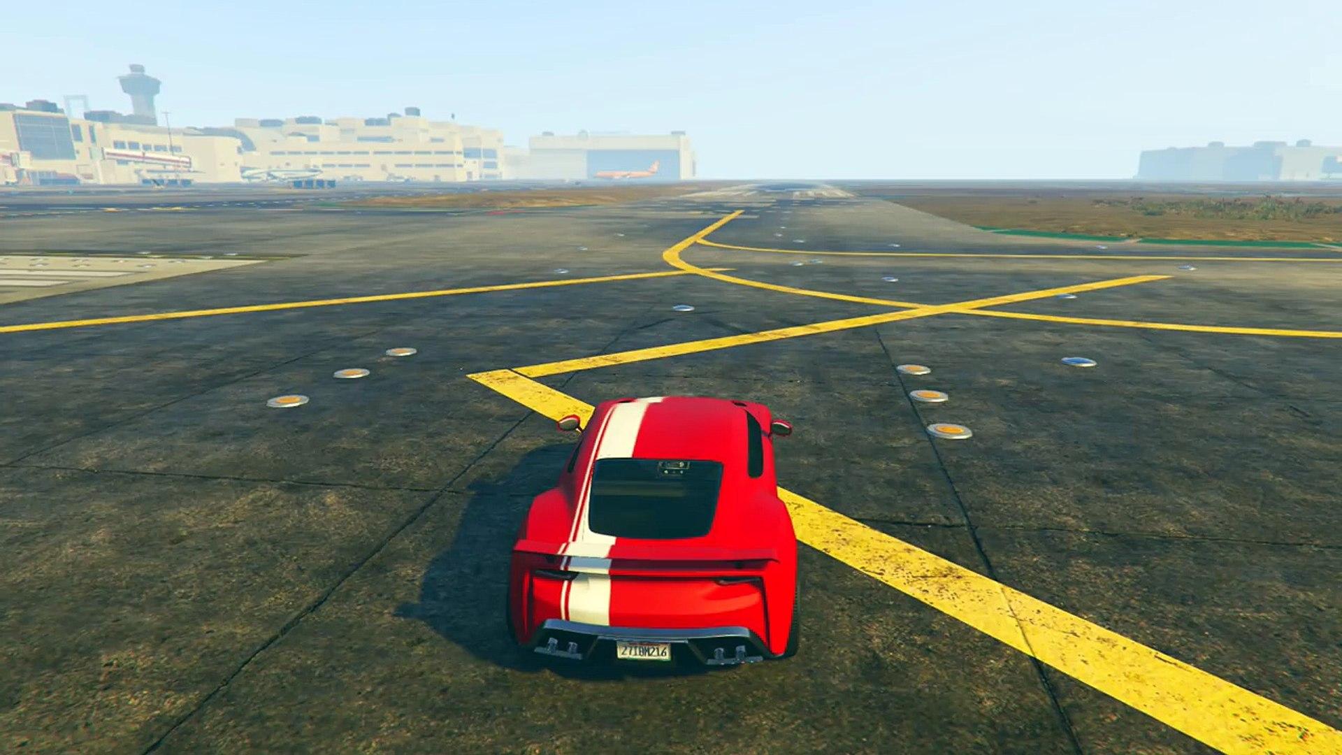Gta 5 Online Ufficiale L Auto Piu Veloce Di Gta Online Gta 5 Ita Speed Test Video Dailymotion