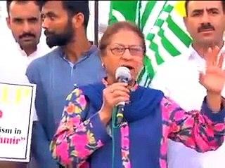 Asma Jehangir called Moodi a MONKEY and praises burhan wani in Kashmir rally.