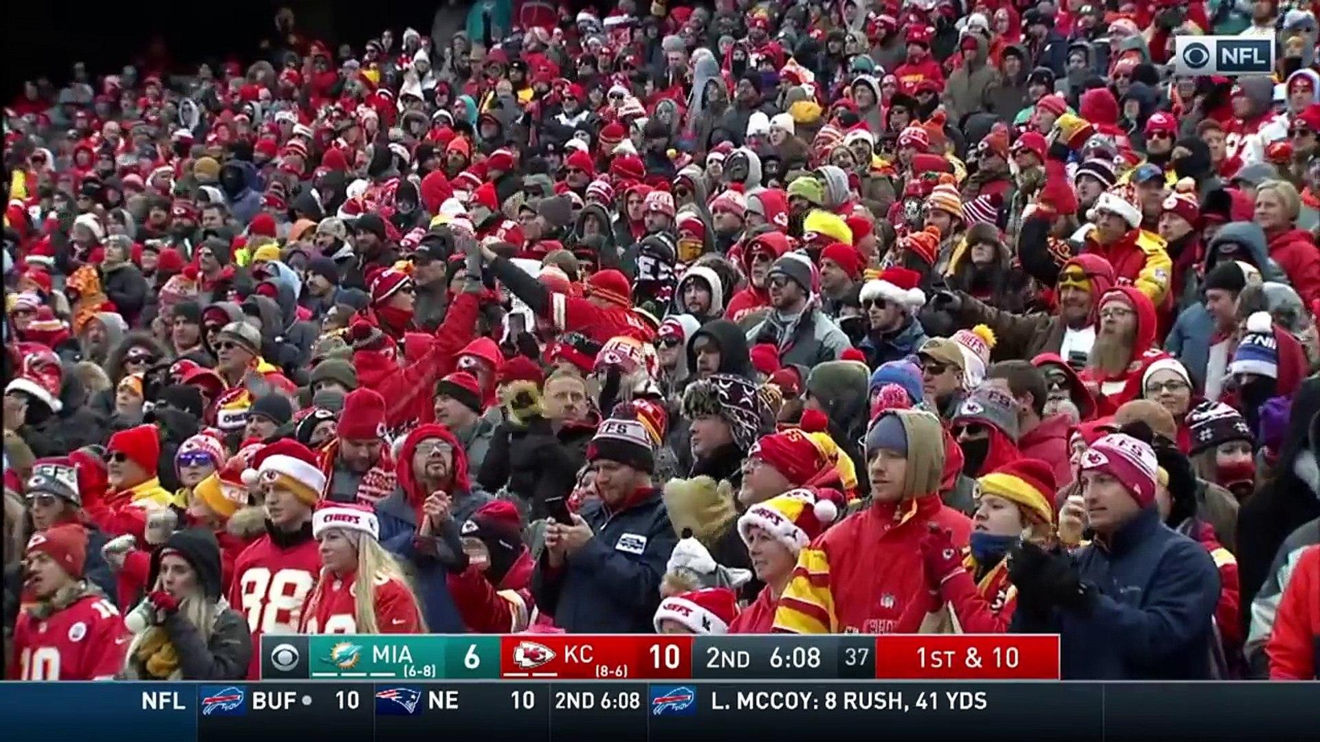 Kareem Hunt Highlights | Dolphins vs. Chiefs | NFL Wk 16 Player Highlights