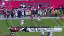 Tampa Bay Buccaneers vs. Carolina Panthers | NFL Week 16 Game Preview | NFL Playbook