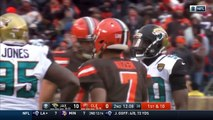 DeShone Kizer Leads Cleveland on Huge TD Drive! | Jaguars vs. Browns | NFL Wk 11 Highlights