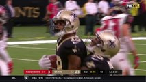 Ted Ginn Jr. Gives the Football to a Baby After Big TD Grab! | Bucs vs. Saints | NFL Wk 9 Highlights