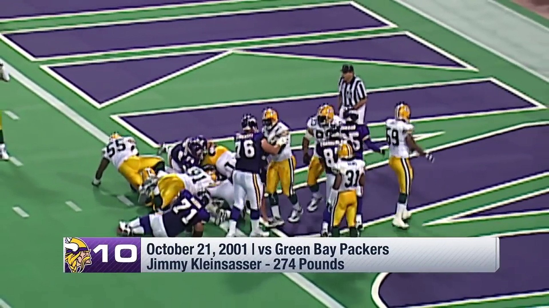 Top 10 Heaviest Players to Rush for a TD in the Super Bowl Era   #TDTuesday   NFL Highlights