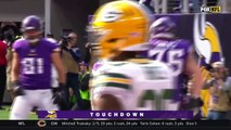 Jerick McKinnon Racks Up 2 TDs in the 1st Half! | Packers vs. Vikings | NFL Wk 6 Highlights