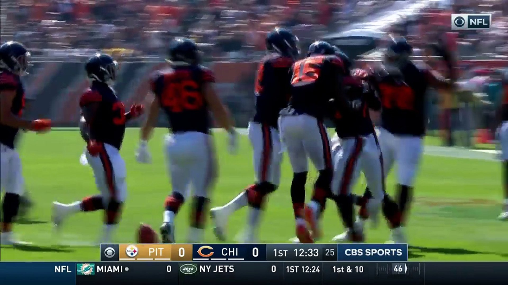 Eli Rogers' Botched Punt Sets Up Jordan Howard's TD Run! | Steelers vs. Bears | NFL Wk 3 H
