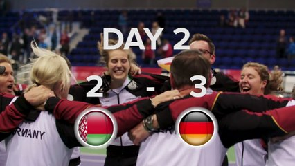 Belarus v Germany State of Play Day 2
