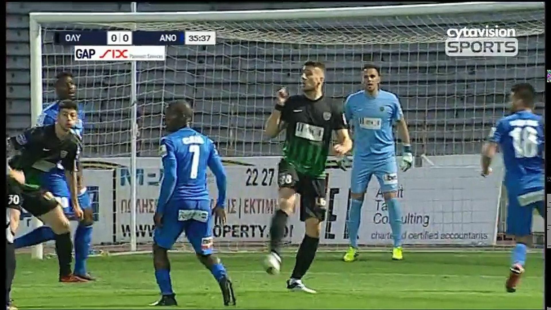 Olympiakos Nicosia 0 3 Anorthosi Full Highlights Cyprus 11 02 2018 Video Dailymotion