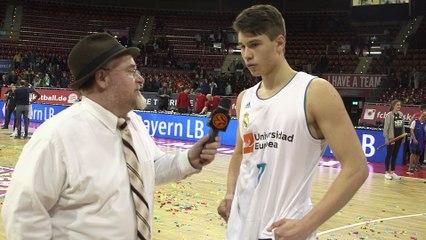 EB ANGT Munich, MVP Interview: Mario Nakic, U18 Real Madrid