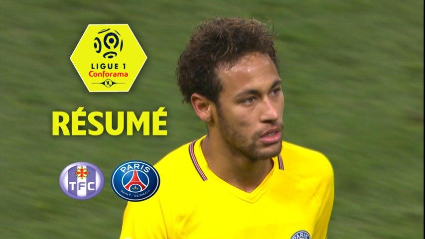Toulouse FC - Paris Saint-Germain (0-1) - Résumé - (TFC-PARIS) / 2017-18   Godialy.com