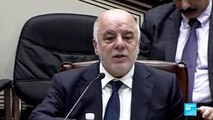 "Iraqi PM Haider al-Abadi: ""This referendum opens the door to a new struggle, so we reject it!"""