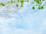 3m  5 Couleurs 02  5 pièces  CAT7 câble patch SET SFTP PiMF Câbles réseau Ethernet