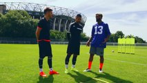Super bowl - Odell Beckham Jr. Teaches F2 the Spectacular Catch, Banana Punts & How to Throw a Football  NFL