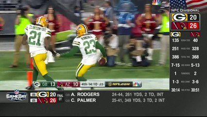 Super bowl - Packers vs. Cardinals  Divisional Playoff Highlights  NFL