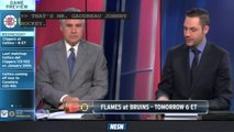 NESN Sports Today: Bruins Gear Up To Take On Johnny Hockey And The Calgary Flames